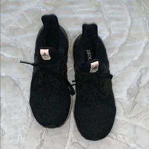Black adidas ultra boost